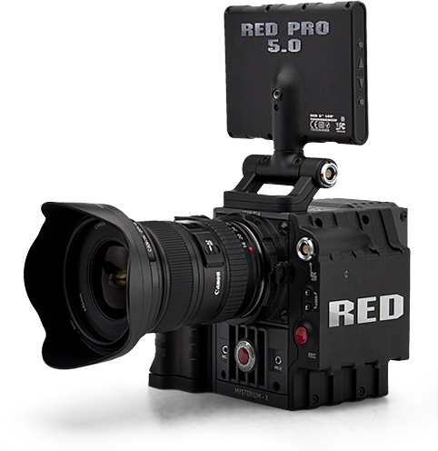 Alquiler cámaras de cine | Red Scarlet Mysterium-X | Madrid | España y Portugal