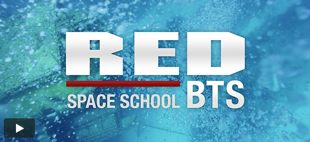 RED BTS: Space School