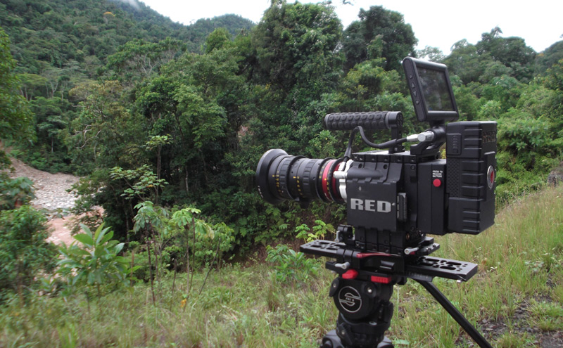 Jerome Dolbert takes RED EPIC-MYSTERIUM-X into the rainforest