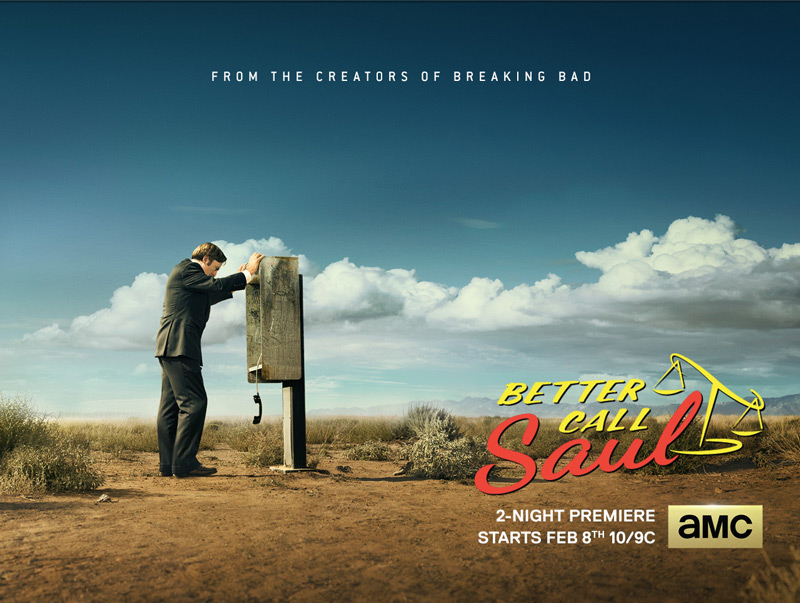 Better Call Saul Premieres Feb 8th, Shot on RED