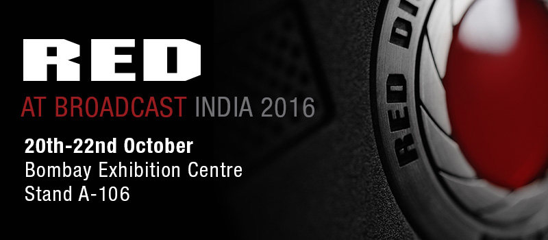RED Returns to Broadcast India