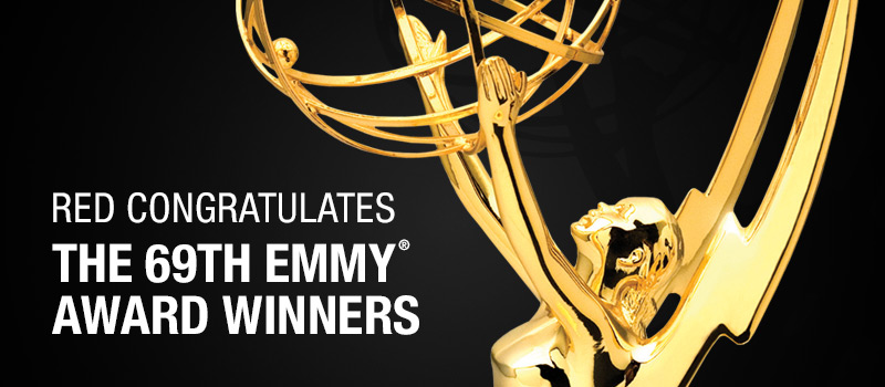 RED Congratulates 2017 Emmy Award Winners