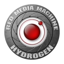 HYDROGEN LOGO STICKER